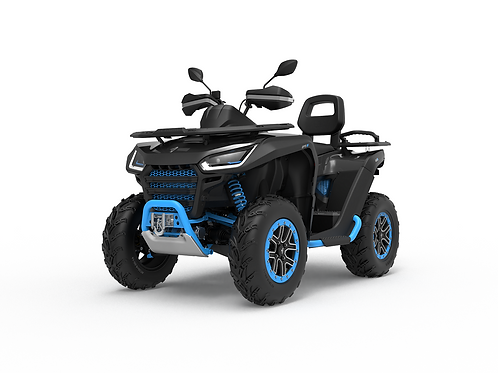 2021 Segway Snarler 570 AT6L X 2UP ATV - Grey/Blue