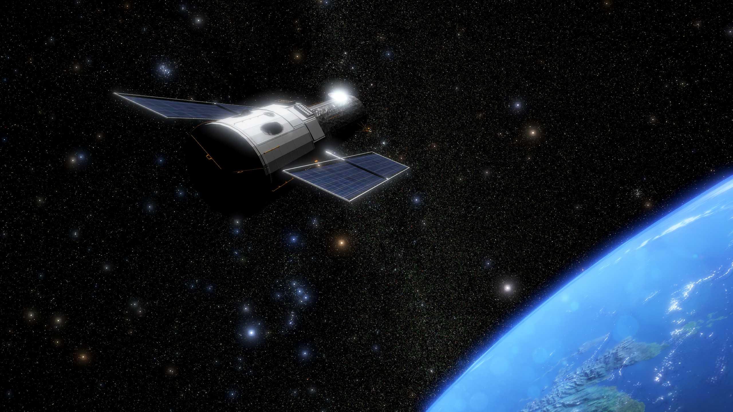 Erdorbit / Hubble