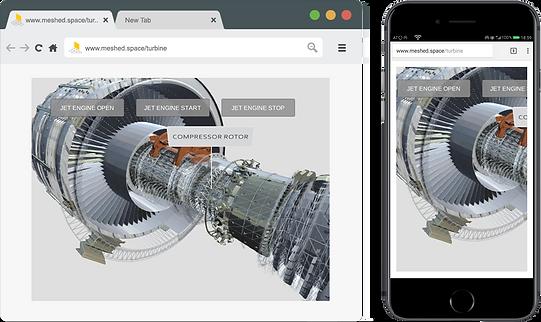 3D-Web Turbine