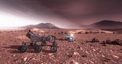 Auf dem Mars / Rover
