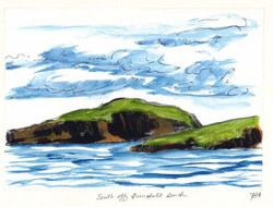 South Off Quendale Beach, Shetland