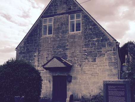 The Quaker Meeting House in Painswick