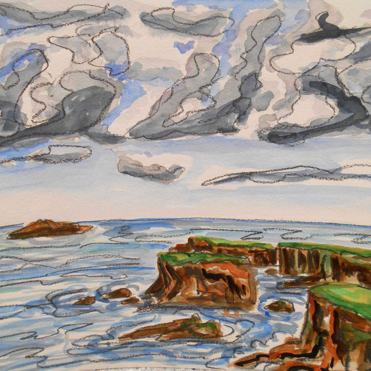 Cliffs, Shetland