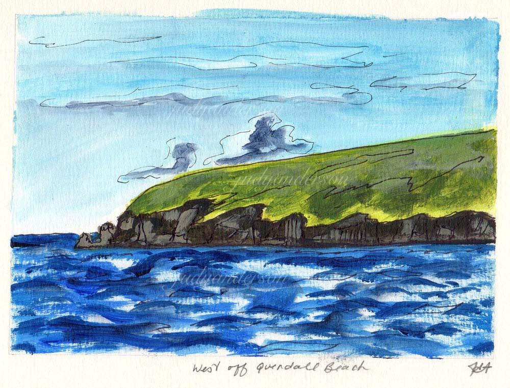 West Off Quendale Beach, Shetland
