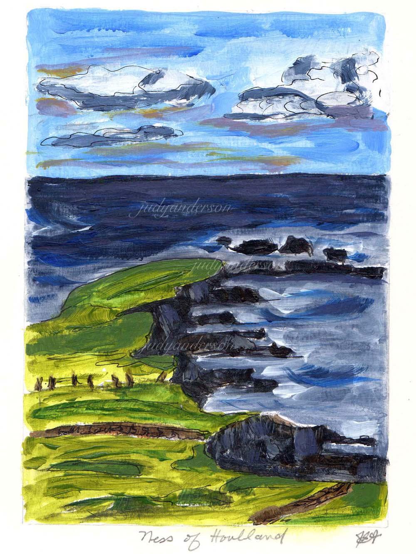 Ness Of Houlland, Shetland
