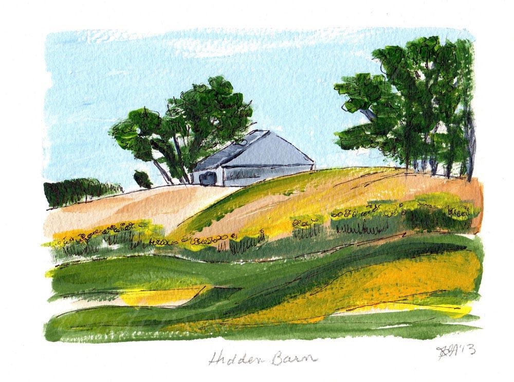 Hidden Barn, Ontario