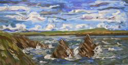 Windy Day St Ninians