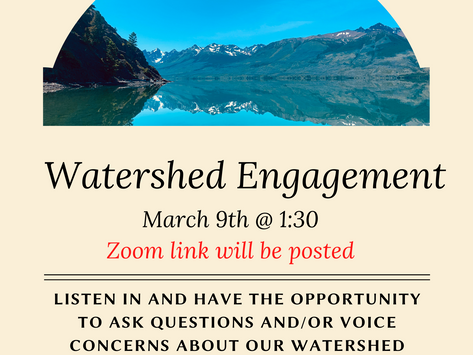 XGFNG Watershed Management Plan Engagement session