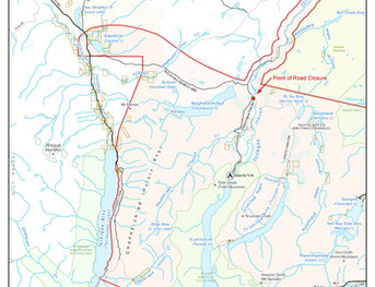 FOR IMMEDIATE RELEASE: Chilko-Newton road closure protects people, bears
