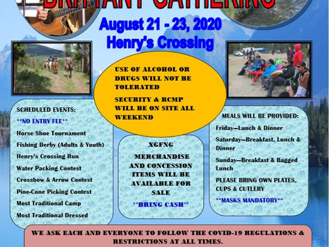 28 Annual Brittany Gathering-COVID-19 Announcement