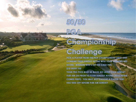 PGA CHAMPIONSHIP PICK-A-PRO