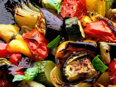 Roasted Coconut Curry Vegetables