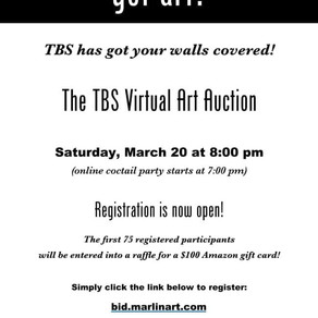Register for the Virtual Art Auction TODAY