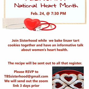 TBS SISTERHOOD EVENT