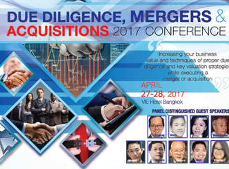 DUE DILIGENCE, MERGERS & ACQUISITIONS 2017