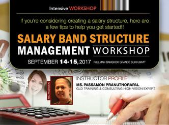 SALARY BAND STRUCTURE MANAGEMENT WORKSHOP