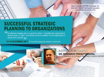 SUCCESSFUL STRATEGIC PLANNING TO ORGANIZATIONS