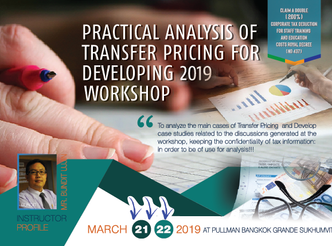PRACTICAL ANALYSIS OF TRANSFER PRICING FOR DEVELOPING 2019