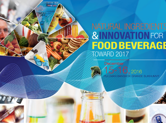NATURAL INGREDIENTS & INNOVATION FOR FOOD BEVERAGE TOWARD 2017