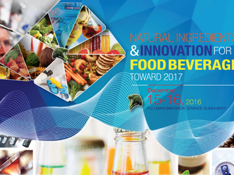 NATURAL INGREDIENTS & INNOVATION FOR FOOD BEVERAGE TOWARD 2017