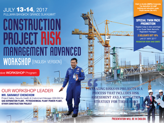 CONSTRUCTION PROJECT RISK MANAGEMENT ADVANCED WORKSHOP (ENGLISH VERSION)