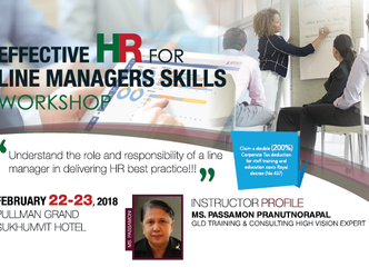 EFFECTIVE HR FOR LINE MANAGERS SKILLS WORKSHOP