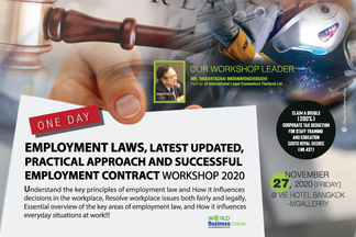 Employment Laws, latest updated, practical approach and Successful Employment contract Workshop