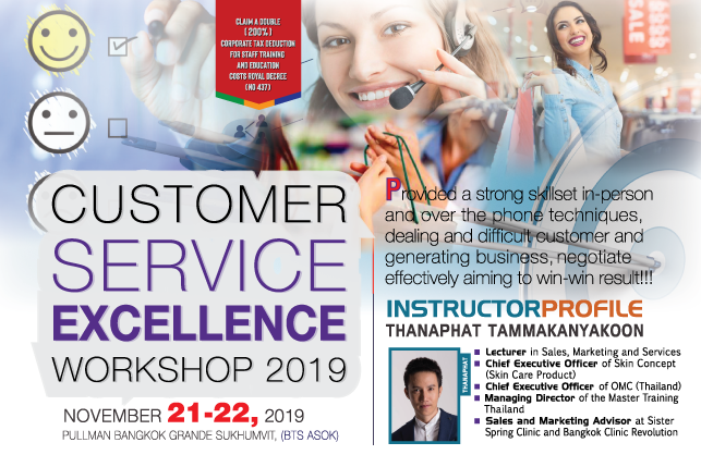 Customer Complaint Handling Workshop 2019