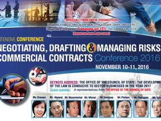 NEGOTIATING, DRAFTING & MANAGING RISKS COMMERCIAL CONTRACTS