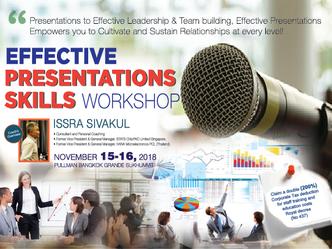 PRESENTATION SKILLS & EFFECTIVENESS WORKSHOP
