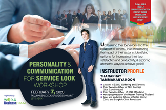 PERSONALITY AND COMMUNICATION FOR SERVICE LOOK WORKSHOP 2020