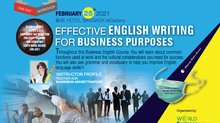 EFFECTIVE ENGLISH WRITING FOR BUSINESS PURPOSES
