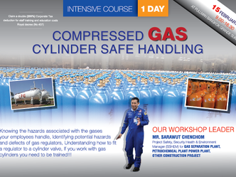 COMPRESSED GAS CYLINDER SAFE HANDLING