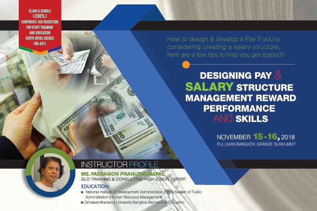 Designing Pay And Salary Structure Management