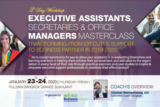 Executive Assistants, Secretaries & Office Managers Masterclass : Transforming from Executive Su