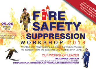 FIRE SAFETY AND SUPPRESSION WORKSHOP 2018