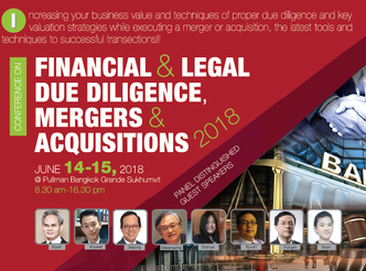 FINANCIAL & LEGAL DUEDILIGENCE, MERGERS & ACQUISITIONS 2018