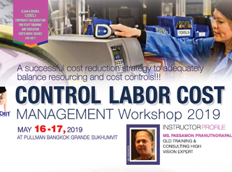 CONTROL LABOR COST MANAGEMENT WORKSHOP 2019