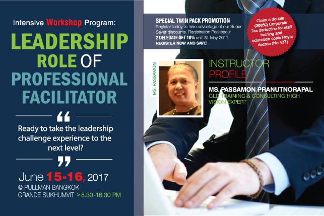 Leadership Role of Professional Facilitator