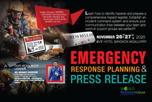 EMERGENCY RESPONSE PLANNING AND PRESS RELEASE WORKSHOP 2020