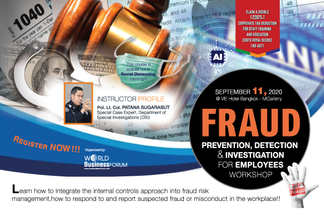 FRAUD PREVENTION, DETECTION AND INVESTIGATION FOR EMPLOYEES WORKSHOP 2020