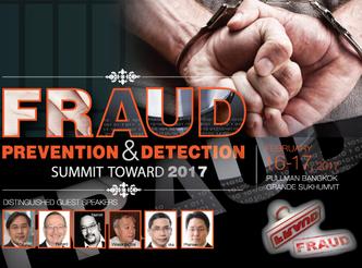 FRAUD PREVENTION & DETECTION SUMMIT TOWARD 2017