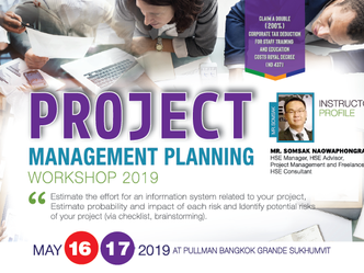 PROJECT MANAGEMENT PLANNING WORKSHOP 2019