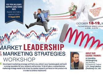 MARKET LEADERSHIP & MARKETING STRATEGIES WORKSHOP