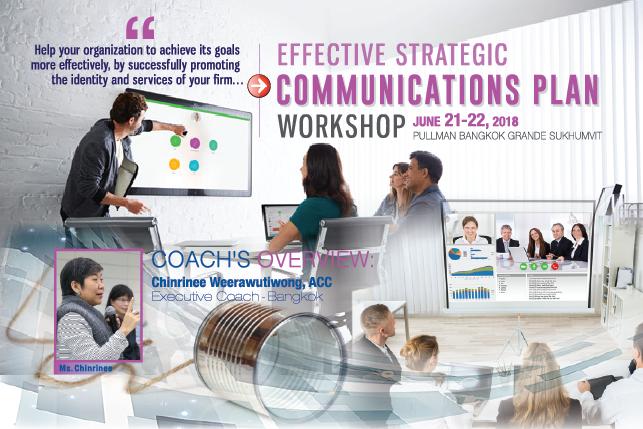 Effective Strategic Communications Plan Workshop