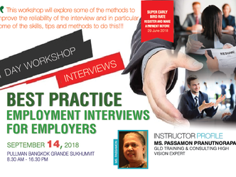 BEST PRACTICE EMPLOYMENT INTERVIEWS FOR EMPLOYERS