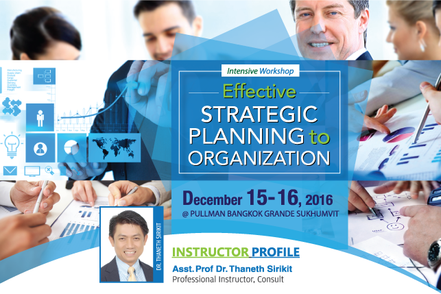 Effective Strategic Planning to Organization