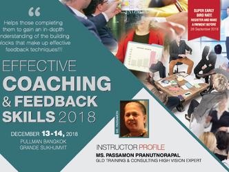 EFFECTIVE COACHING AND FEEDBACK SKILLS 2018