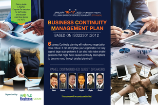 BUSINESS CONTINUITY MANAGEMENT PLAN BASED ON ISO22301:2012