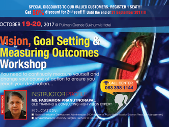 VISION, GOAL SETTING AND MEASURING OUTCOMES WORKSHOP
